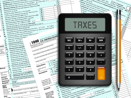 The AARP Fountation's Tax-Aide Program offers free help in filling out tax forms. (ayo888/iStockPhoto)