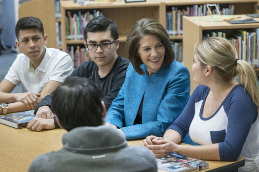 Nevada Sen. Catherine Cortez Masto became the first Latina to be sworn in as a member of the U.S. Senate on Tuesday. (C. Cortez Masto)