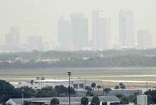 Smog or ozone pollution is already a big problem for Florida cities, but the group Clean Air Moms Action says air quality isn't a priority for President-elect Donald Trump's pick to head the EPA. (Sierra Club Florida)