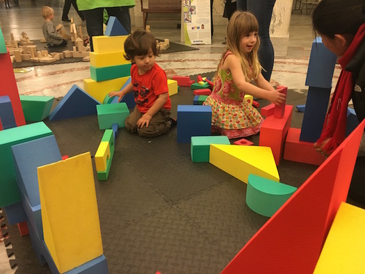 BLOCK Fest, an interactive learning program for young children, will be on display at an event tomorrow at the Idaho State Capitol. (IAEYC)