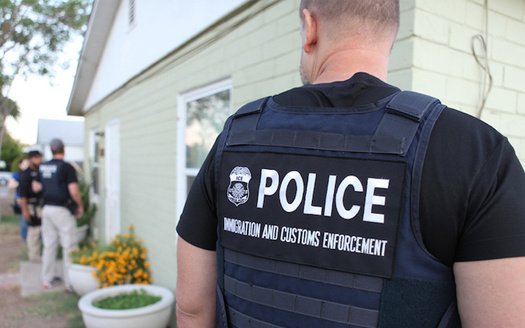 Fearing stepped-up ICE raids, many areas are increasing protections for immigrants. (U.S. Immigration and Customs Enforcement/Wikimedia Commons)