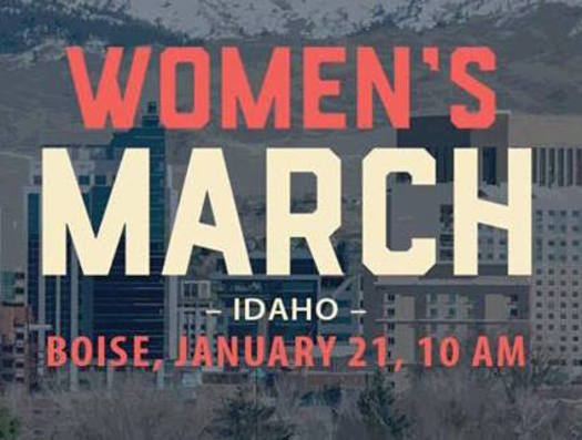 The Women's March on Idaho in Boise is one of more than 600 such events planned across the country on Saturday. (Ellen B. Hansen)