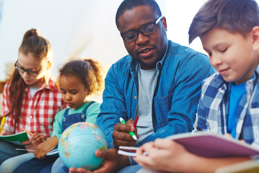 A new report shows Wisconsin lagging far behind in hiring teachers of color. (shironosov/iStockPhoto.com)