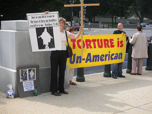Members of the faith community say torture is in direct conflict with their religious values. (Robin Kirk/Flickr)