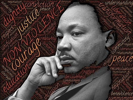 Ohioans are remembering Martin Luther King Jr's message of service, peace and social equality. (Pixabay)