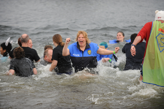 Every year, hardy Washingtonians take a dive into frigid waters around the state to raise money for the Special Olympics. (Special Olympics Archive)