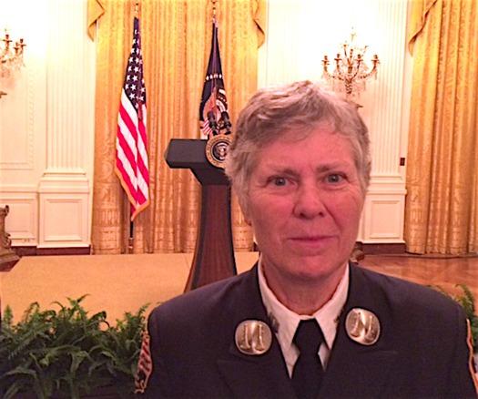 Brenda Berkman, one of the first women firefighters in New York City, joined the FDNY in 1982. (Brenda Berkman)
