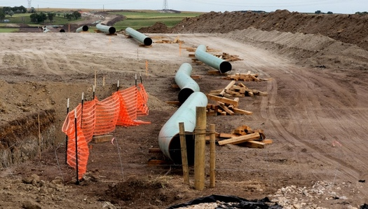 The Dakota Access pipeline is to carry oil from North Dakota to Illinois, cutting through 18 Iowa counties. (Lars Ploughman/Flickr)