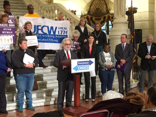 "A coalition of organizations has launched a ""Pennsylvania's Choice"" 2017 budget campaign. (Education Voters of Penn.)"