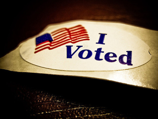 Numerous studies show in-person voter fraud is extremely rare. (Vox Efx/Flickr)