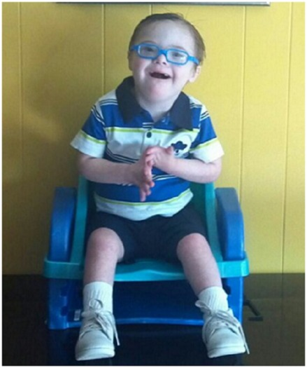 Missouri children such as Levi benefit from a program begun by a community group in Rolla more than 15 years ago. (Capable Kids)