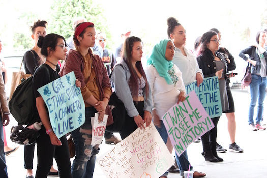Groups are calling on Oregon lawmakers to pass standards for ethnic studies in the state's public schools. (APANO)