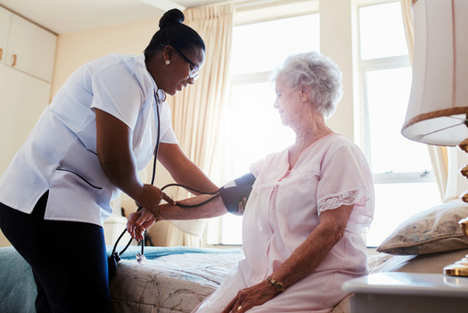 A new report by AARP Texas finds one in four nursing homes in the state has severe problems that jeopardize residents' health. (jacoblund/iStockphoto)