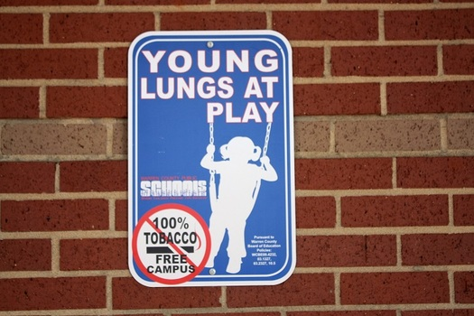 Warren County Public Schools have had a tobacco free policy in place for two years. Now, lawmakers are considering a statewide rule. (Warren County Public Schools)