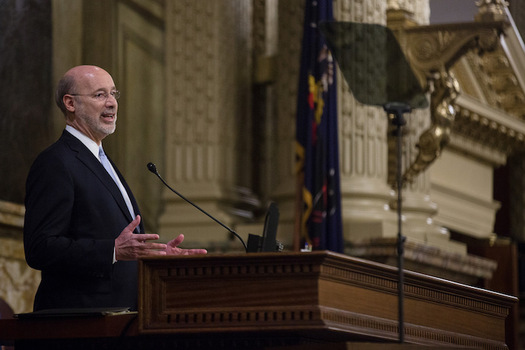 Gov. Tom Wolf's proposed budget increases basic education funding in Pennsylvania by $100 million. (Office of Gov. Tom Wolf)