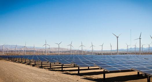 Supporters of renewable energy will rally in two Nevada cities today. (adamkaz/iStockphoto)