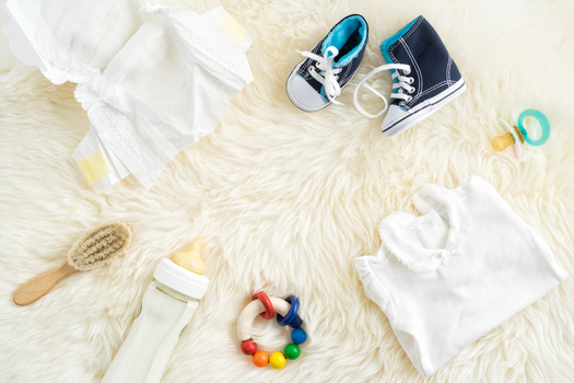 A program in Jackson County gives out vouchers for baby supplies in exchange for families' healthy prenatal and post-natal care. (Redphotographer/iStockphoto)