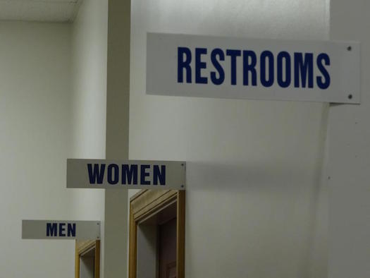 Civil rights advocates are calling on local and state officials to clarify restroom policies for transgender students in Florida. (DodgertonSkillhause/morguefile)