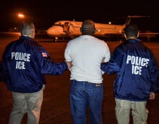 A new study of 40 years of data challenges President Donald Trump's claim that immigrants increase crime. (ice.gov)