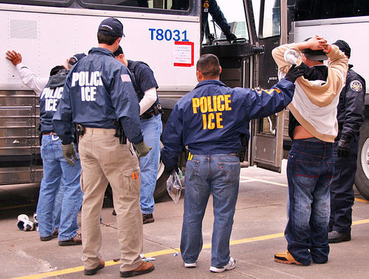 Ramped-up ICE activity has left many Oregon immigrants fearful and unsure how to prepare for potential detention. (U.S. Immigration & Customs Enforcement)