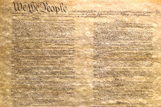 The Preamble to the Constitution of the United States.