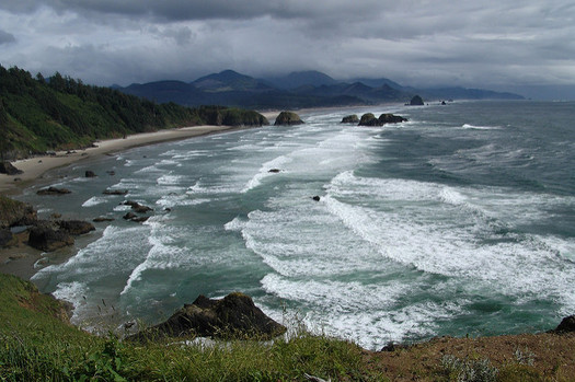 The Nature Conservancy is teaming up with a local land trust to protect part of Tillamook Head, a region identified as resilient as climate change worsens. (OCVA/Flickr)