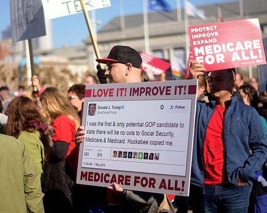 Opposition to the GOP's plan to replace the Affordable Care Act is growing, after the nonpartisan Congressional Budget Office found the legislation would cause 24 million Americans to lose coverage. (Tom Hilton/Wikimedia Commons)