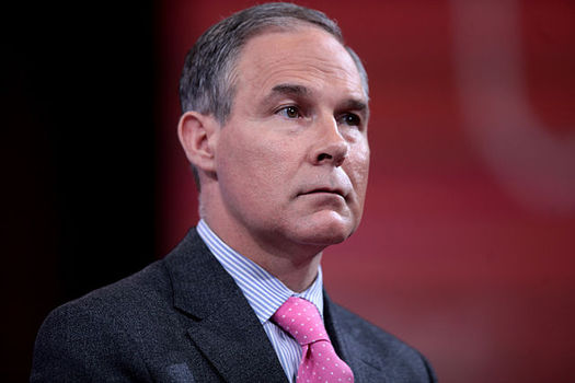 Most scientists disagree with new Environmental Protection Agency chief Scott Pruitt's claims that climate change may not be caused by human activity and CO2 emissions. (Wikimedia Commons)