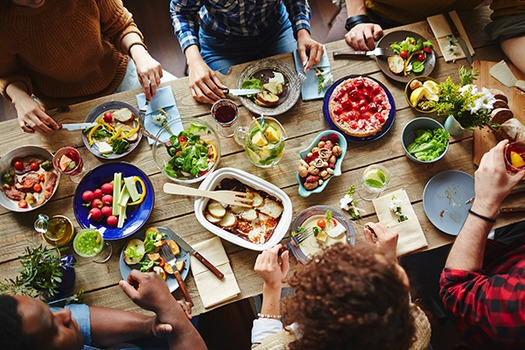 Healthy eating can help prevent colon cancer. (fda.gov)