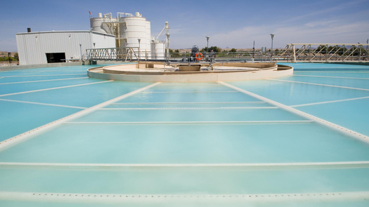 The Yuma Desalting Plant during a pilot run in 2010. (U.S. Bureau of Reclamation)