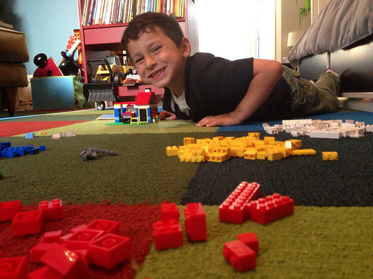 Early intervention is important to help Iowans with autism address language deficits, social delays, sensory sensitivities and other challenges. (davitydave/Flickr)