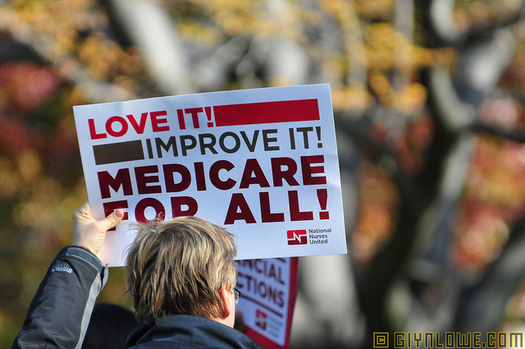 """A congressman from Michigan has introduced the """"Medicare for All Act,"""" which would create a single-payer system. (www.GlynLowe.com/Flickr)"""