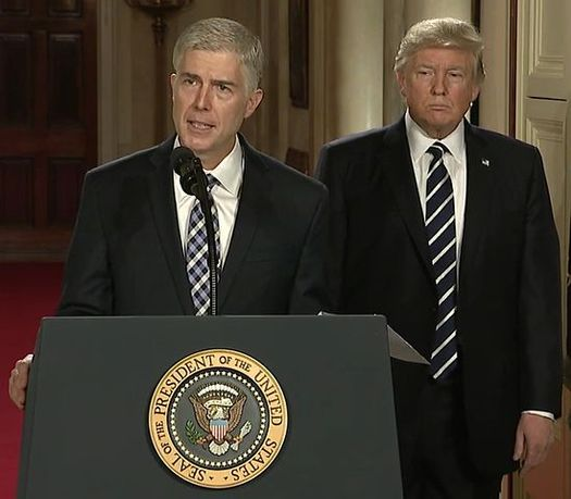 "A national ""People's Filibuster"" took place over the weekend in opposition to President Trump's Supreme Court nominee Neil Gorsuch. (White House)"