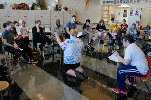 The Oregon Shakespeare Festival provides workshops for high school students in the state. (Kim Budd/Oregon Shakespeare Festival)