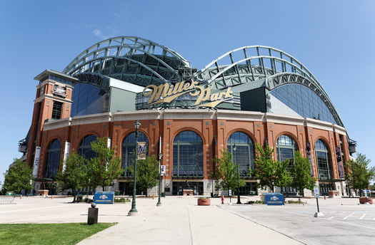 Milwaukee's Miller Park has become the 12th Major League Baseball stadium to prohibit smokeless tobacco. (wellesenterprises/iStockphoto)