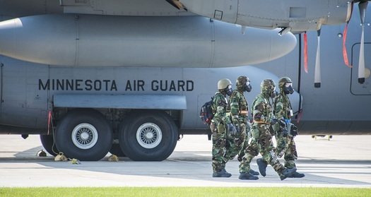 Cutting programs that fight climate change threaten military bases in Minnesota and around the country. (US Air Force)
