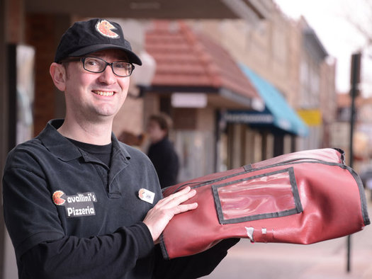 At age 33, Grand Junction worker Jonathan Kenworthy says January�s 99 cent minimum wage boost helps him better afford life's necessities. (David Cornwell)