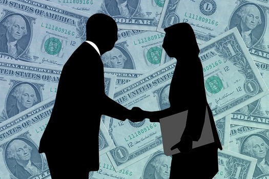 Nationally, women are paid on average 20 percent less than men. (Pixabay)