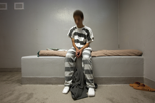 Data from The Annie E. Casey Foundation shows that locking up juvenile offenders when they are not really a threat can change the young person for life. (Richard Ross/AECF)