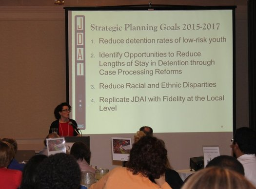 A national model program, the Juvenile Detention Alternatives Initiative is being credited for a major drop in the number of young people being held in secure detention in Massachusetts. (Department of Youth Services)