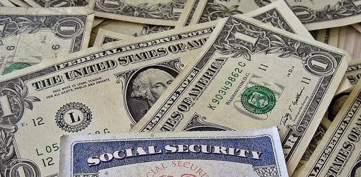 The latest federal estimates say Social Security's trust fund will run out in 2034, although the program would continue to pay benefits through its income from payroll deductions. (401(k) 2012/Flickr)