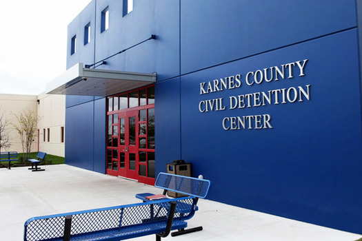 Opponents of a bill to license ICE family detention centers in Dilley and Karnes City as child-care facilities contend it would further traumatize children being held there. (Immigration and Customs Enforcement)
