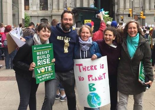People concerned about the environment plan to take part in the Maine People's Climate March on Saturday at the State House in Augusta. (Maine Conservation Alliance)