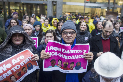 Labor unions and supporters of immigrants' rights will be rallying in the Bay State Monday for May Day calling for an end to President Donald Trump's deportation approach to immigrants. (32BJ SEIU)