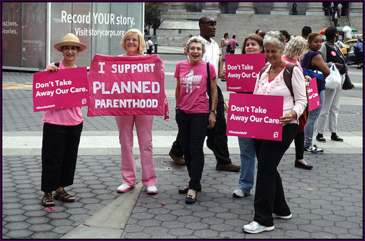 Planned Parenthood says polls show 75 percent of Americans oppose defunding. (The All-Nite Images/Flickr)