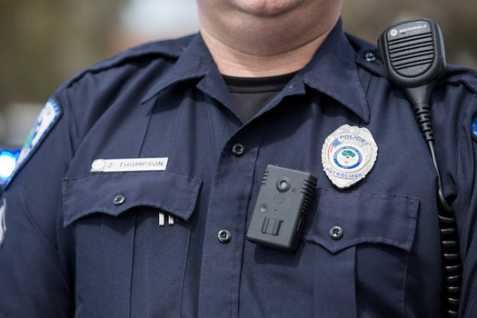 Senate Bill 560 would remove requirements of Pennsylvania's Right to Know law for police body-camera footage. (North Charleston/Flickr)