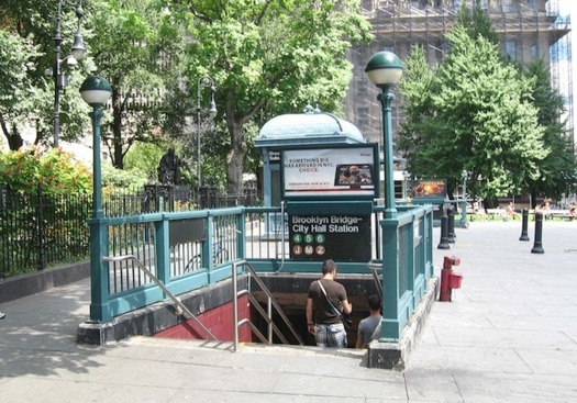 Almost 80 percent of New York City subway stations are not wheelchair accessible. (Jim Henderson/Wikimedia Commons)