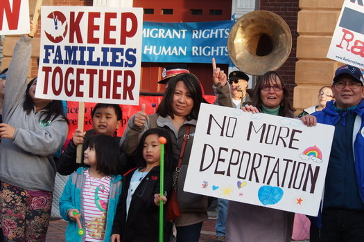Advocates will be out in force in Manchester Monday to stand up for the rights of immigrants and immigrant workers. (A. Alpert/AFSC)