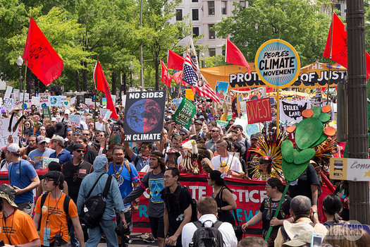 Environmental groups are giving the Trump administration a failing grade for his first 100 days. (Mark Dixon/Flickr)