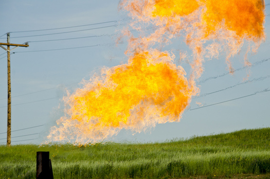 Leaks, venting and flaring on federal lands releases 110 billion cubic feet of gas a year. (Tim Evanson/Flickr)